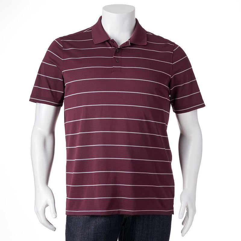 Big & Tall Croft & Barrow® Striped Polo