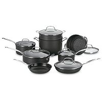 Cuisinart 14-pc. Chef's Classic Hard-Anodized Nonstick Cookware Set