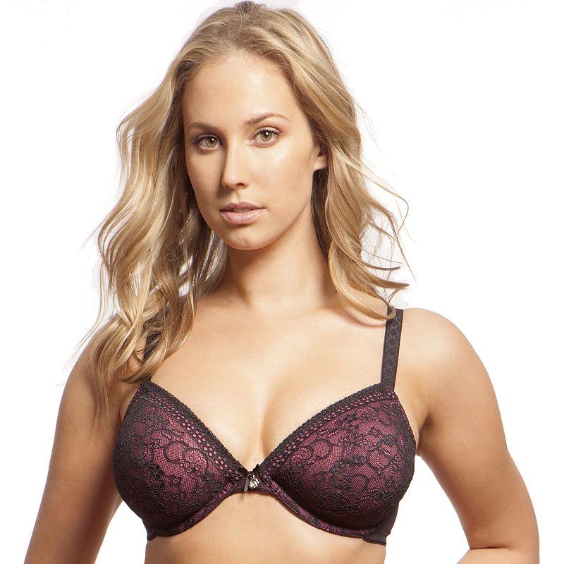 Lunaire Bra: Figi Lace Full-Figure Plunge Bra 25511 - Women's