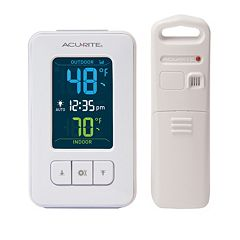 AcuRite Wireless Color Digital Indoor Outdoor Thermometer by