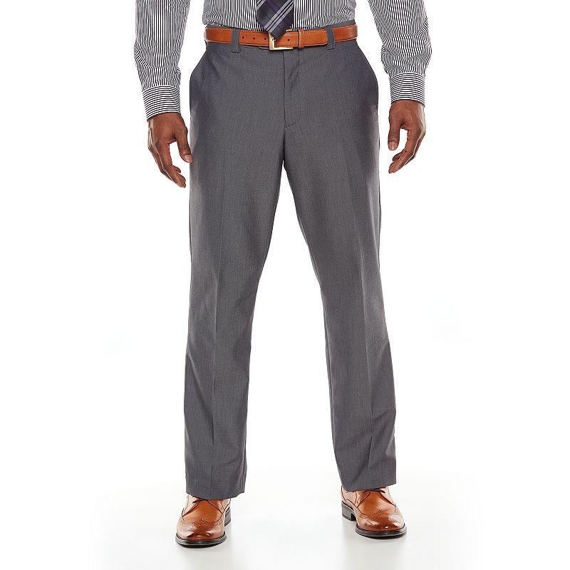 Men's Steve Harvey Modern-Fit Muslanne Flat-Front Suit Pants