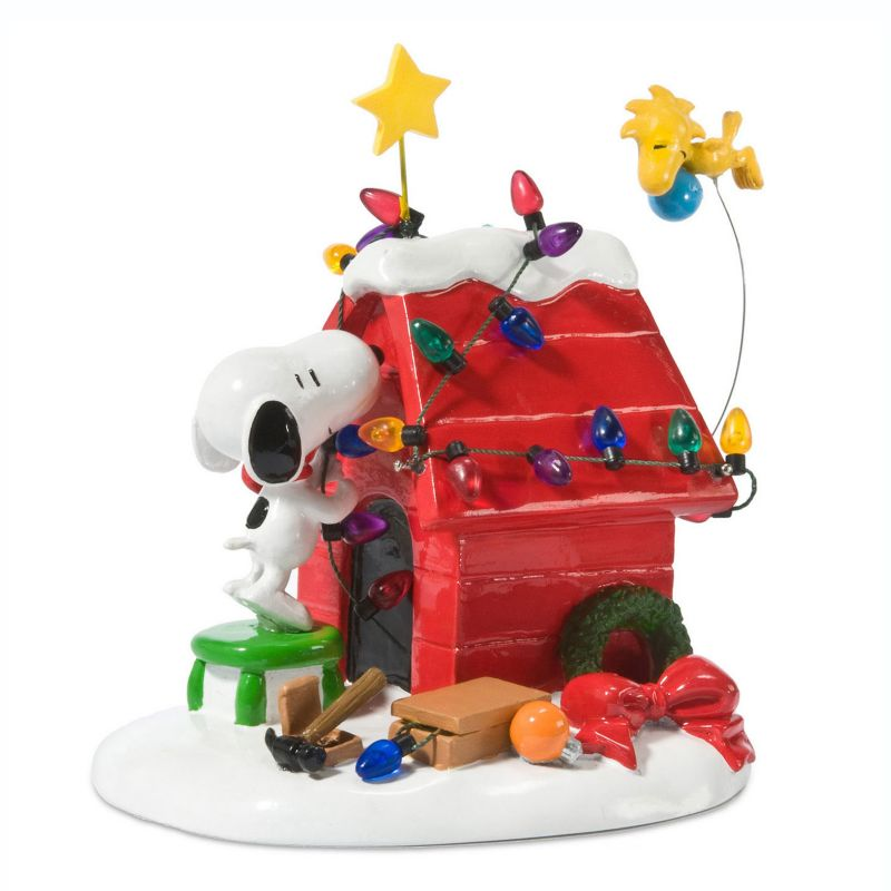 Department 56 Peanuts Snoopy Getting Ready For Christmas Decor