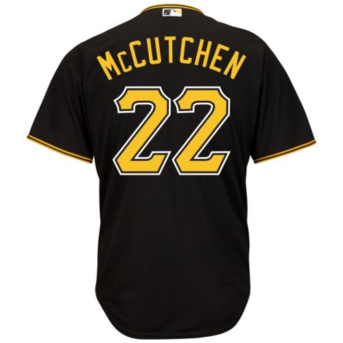 Men's Majestic Pittsburgh Pirates Andrew McCutchen Cool Base Replica MLB Jersey