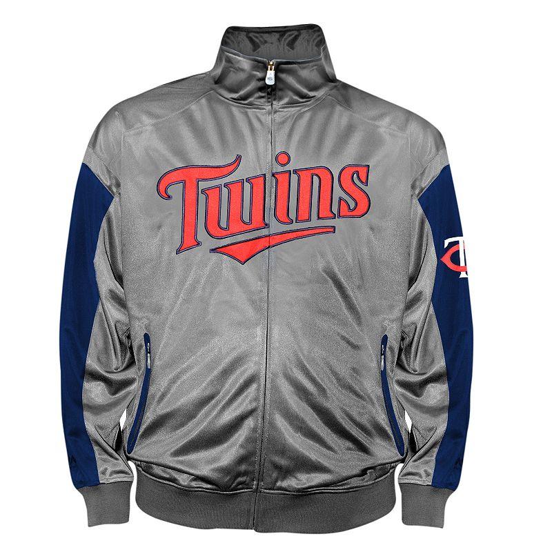 Big & Tall Minnesota Twins Tricot Track Jacket