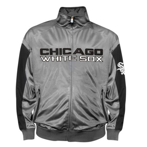 Big & Tall Chicago White Sox Tricot Track Jacket