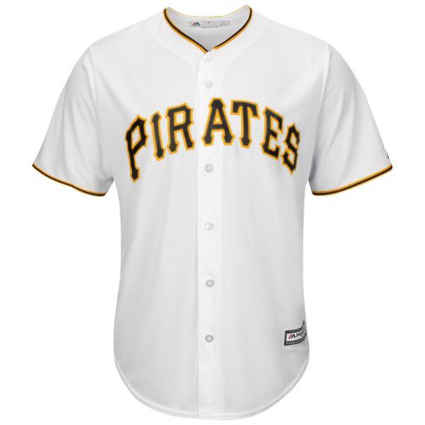 Men's Majestic Pittsburgh Pirates Cool Base Replica MLB Jersey