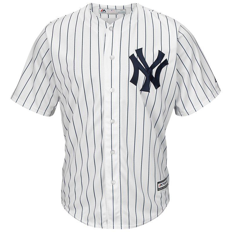 Men's Majestic New York Yankees Cool Base Replica MLB Jersey
