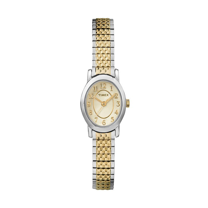 Timex Women's Cavatina Two Tone Stainless Steel Expansion Watch - TW2P60200JT