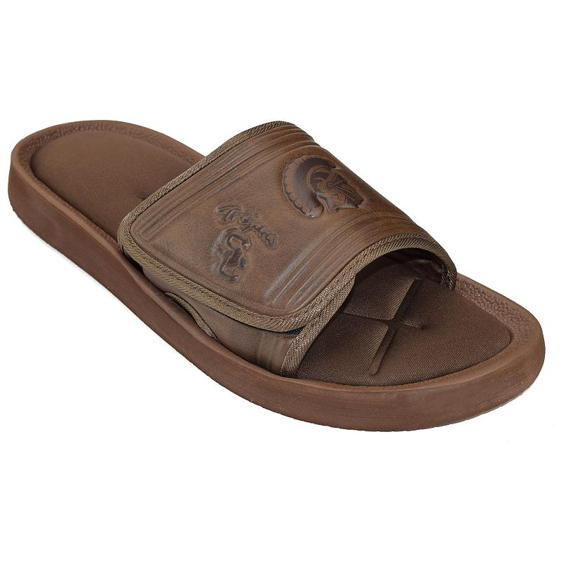 Adult USC Trojans Memory Foam Slide Sandals