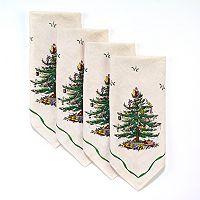 Spode Christmas Tree 4-pk. Napkins