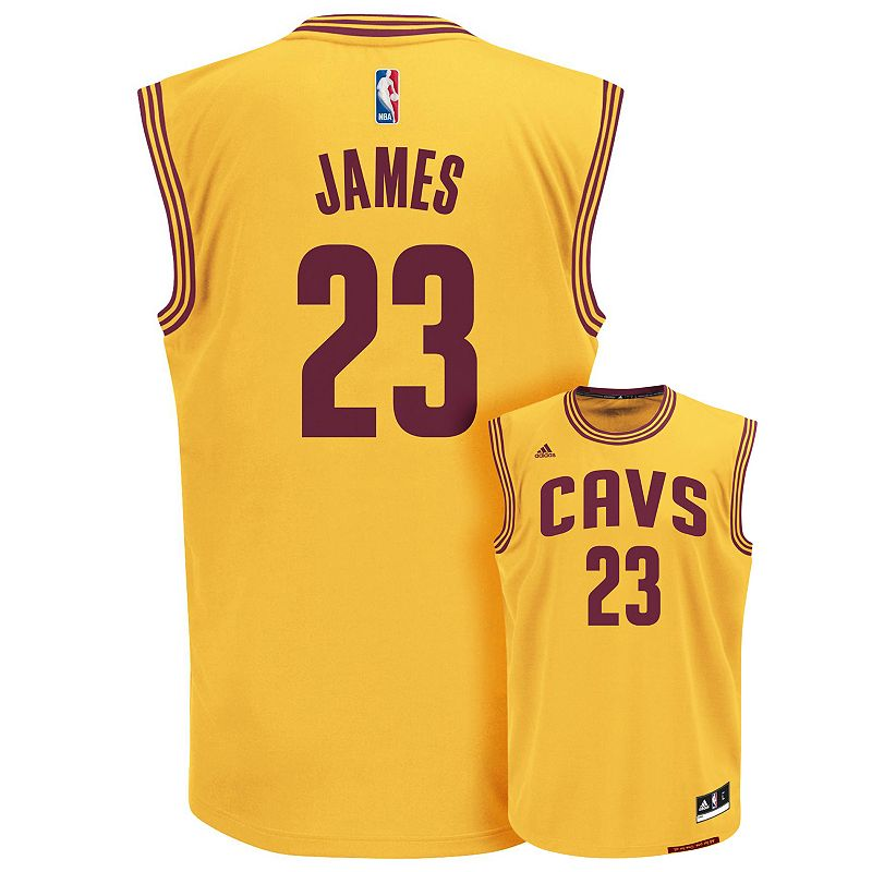 Boys 8-20 adidas Cleveland Cavaliers LeBron James NBA Replica Jersey