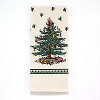 Spode Christmas Tree Print Kitchen Towel