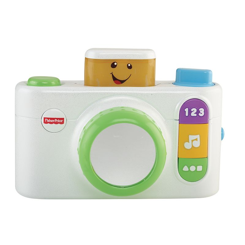 Fisher-Price Laugh & Learn Click 'n Learn Bilingual Camera