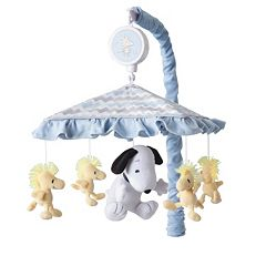 Peanuts My Little Snoopy Musical Mobile by Lambss & Ivy by