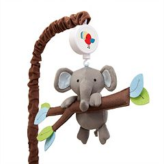 Lambs & Ivy Treetop Buddies Musical Mobile by