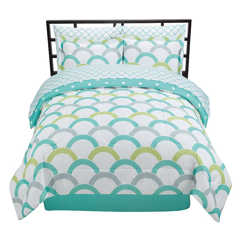 The Big One® Scallop Reversible Bed Set