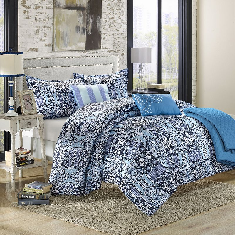 Lynwood 6-pc. Luxury Reversible Comforter and Quilt Set