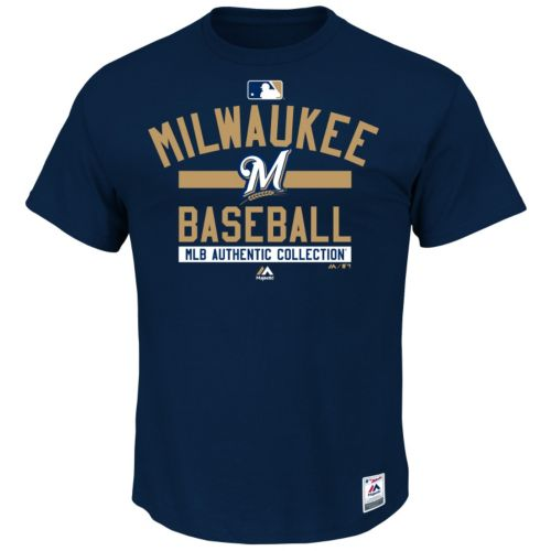 Majestic Milwaukee Brewers AC Team Property Tee - Men