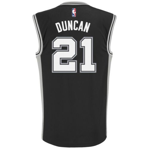 Men's adidas San Antonio Spurs Tim Duncan Replica Jersey