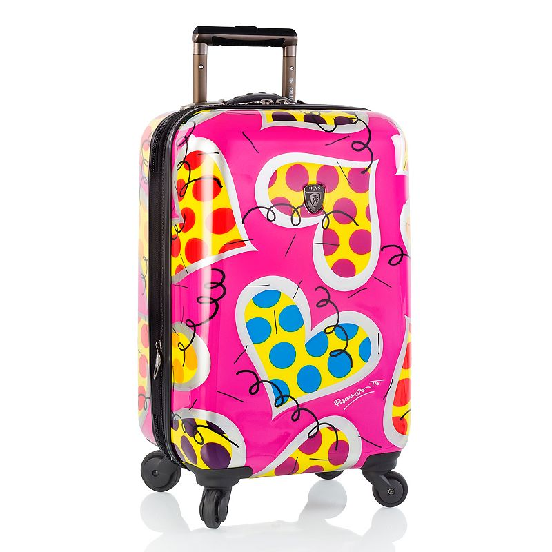 Heys Britto Hearts Carnival 22-Inch Hardside Spinner Luggage