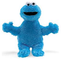 Sesame Street Cookie Monster Plush Toy by babyGUND
