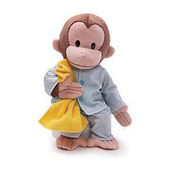Curious George in Pajamas Plush Toy by GUND