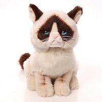 Grumpy Cat Plush Toy by GUND