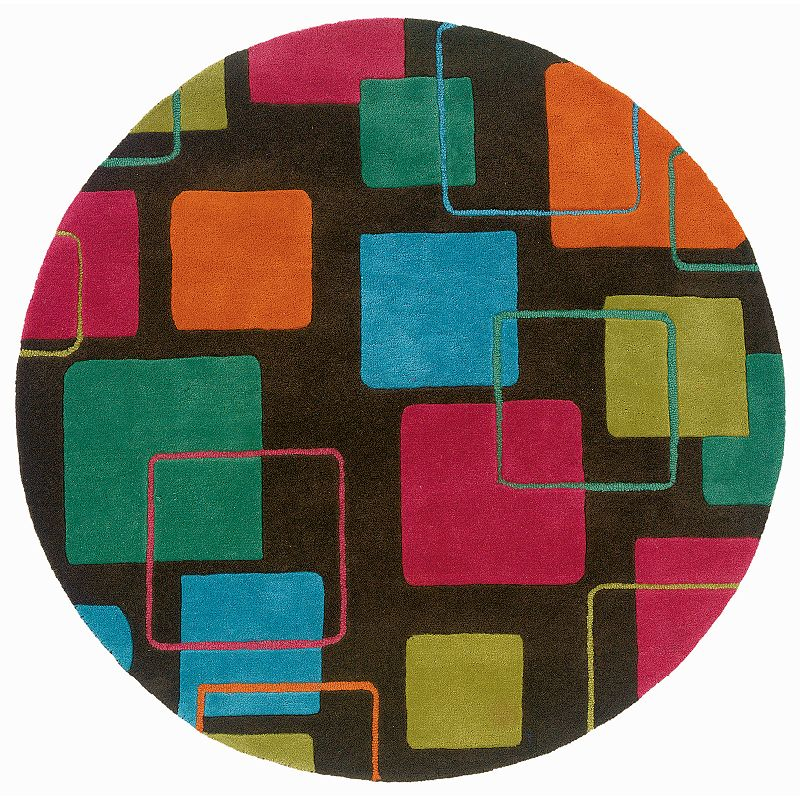 L.R. Resources Vibrance Geometric Rug