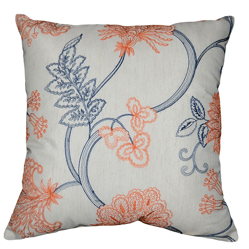 Spencer Fiona Flora Throw Pillow