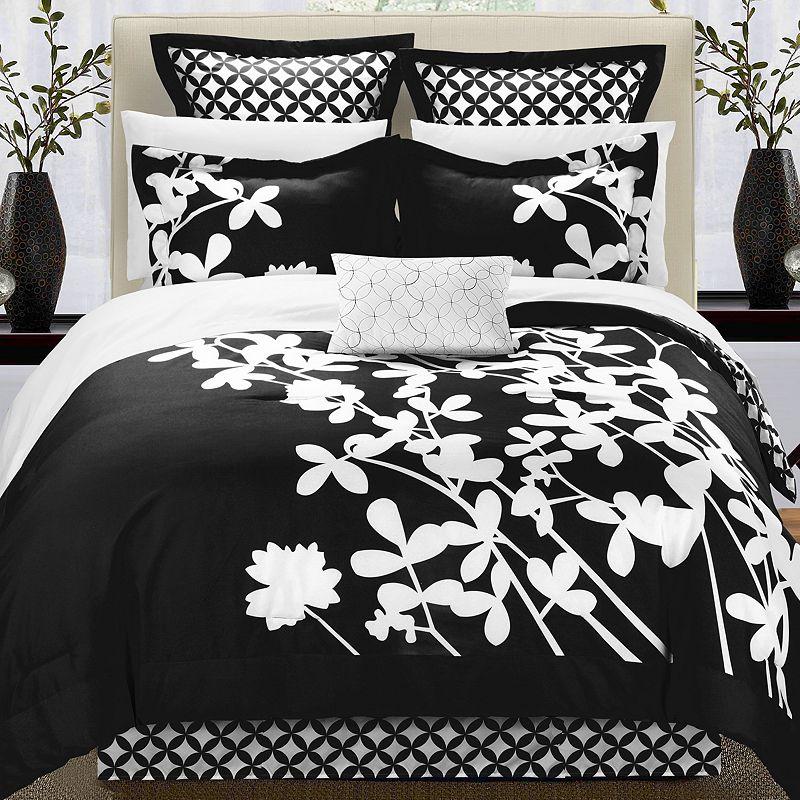 Iris 11-pc. Reversible Bed Set