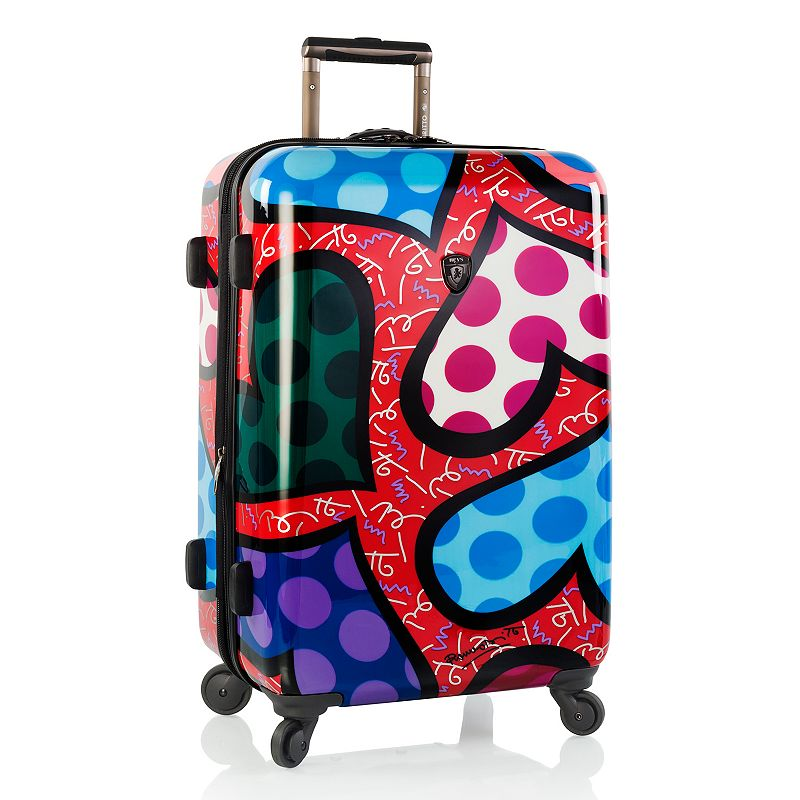 Heys Britto Hearts Carnival 27-Inch Hardside Spinner Luggage