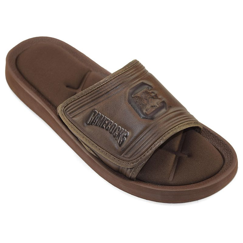Adult South Carolina Gamecocks Memory Foam Slide Sandals