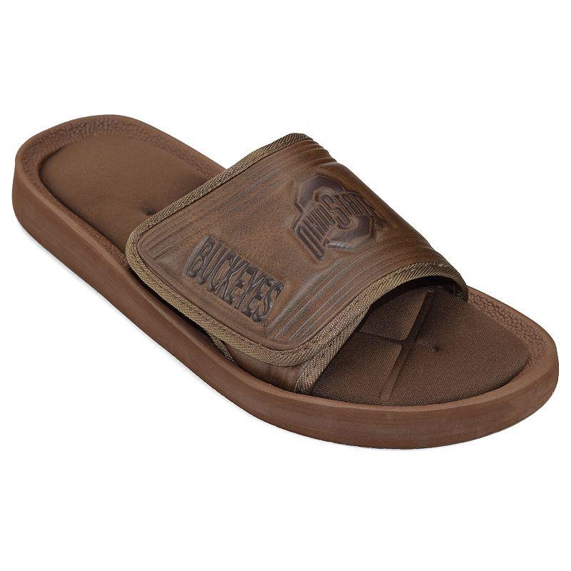 Adult Ohio State Buckeyes Memory Foam Slide Sandals