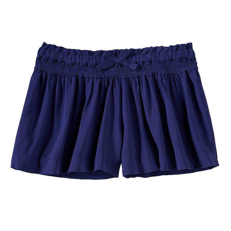 Girls 4-7 SONOMA Goods for Life™ Smocked Soft Shorts