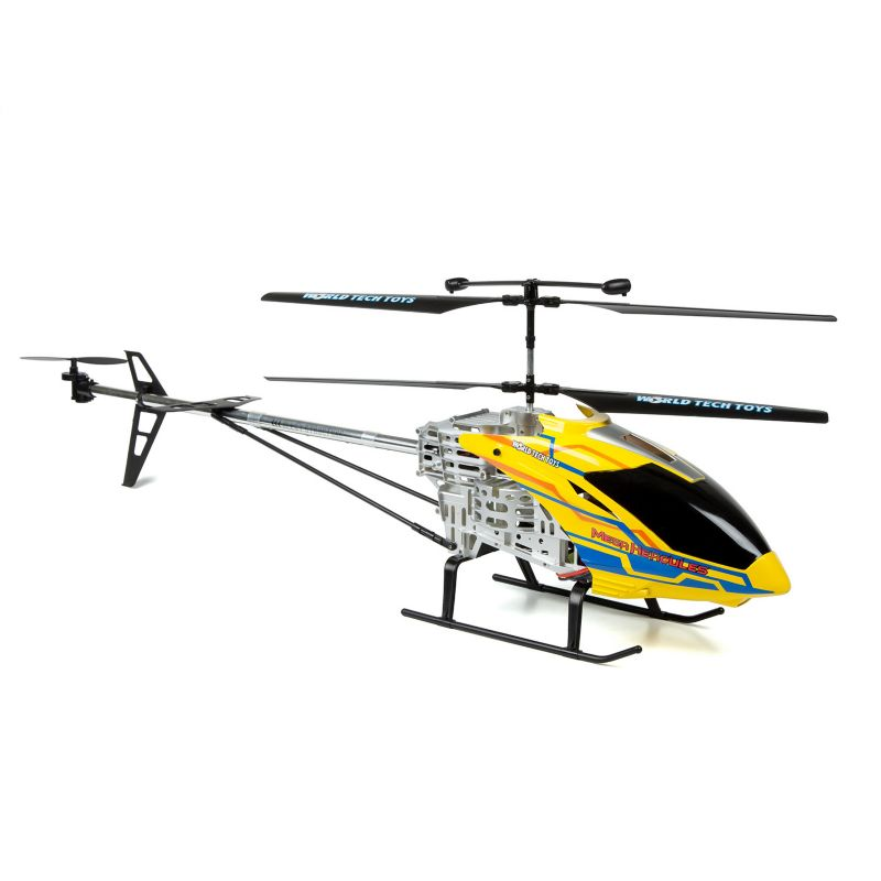 World Tech Toys Mega Hercules Unbreakable 3.5ch RC Helicopter, Multicolor thumbnail