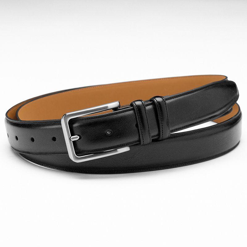 Croft & Barrow® Stitched Dress Belt - Big & Tall