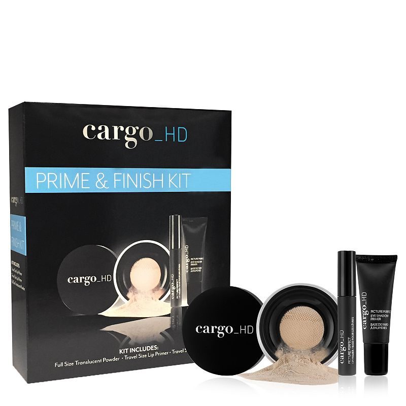 CARGO HD Prime and Finish Makeup Kit Gift Set