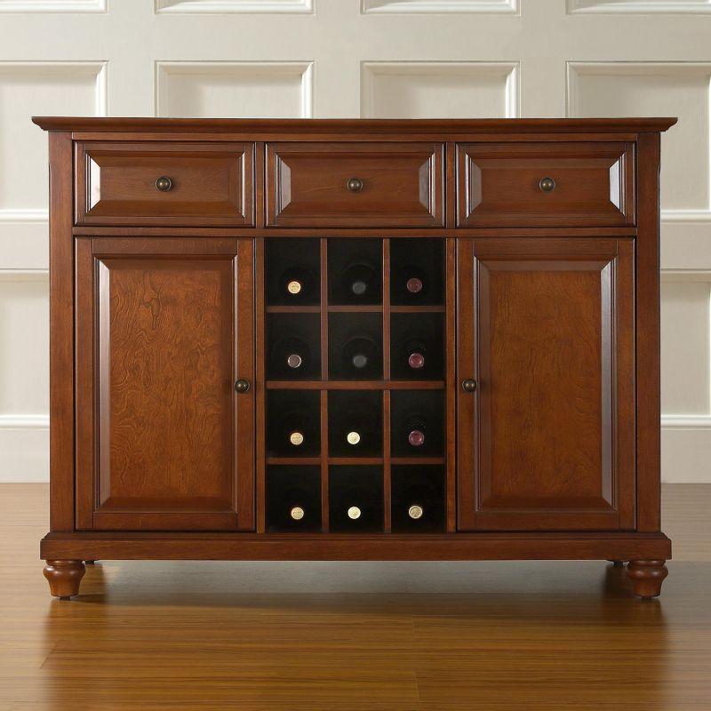 Crosley Furniture Cambridge Cabinet, Clrs thumbnail