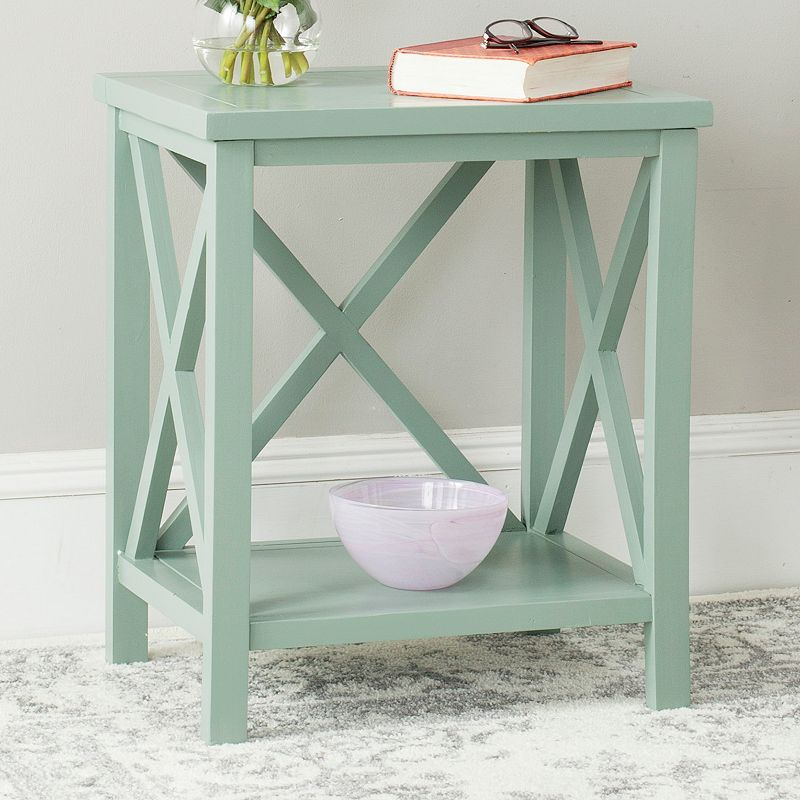 Safavieh Candence Cross Back End Table
