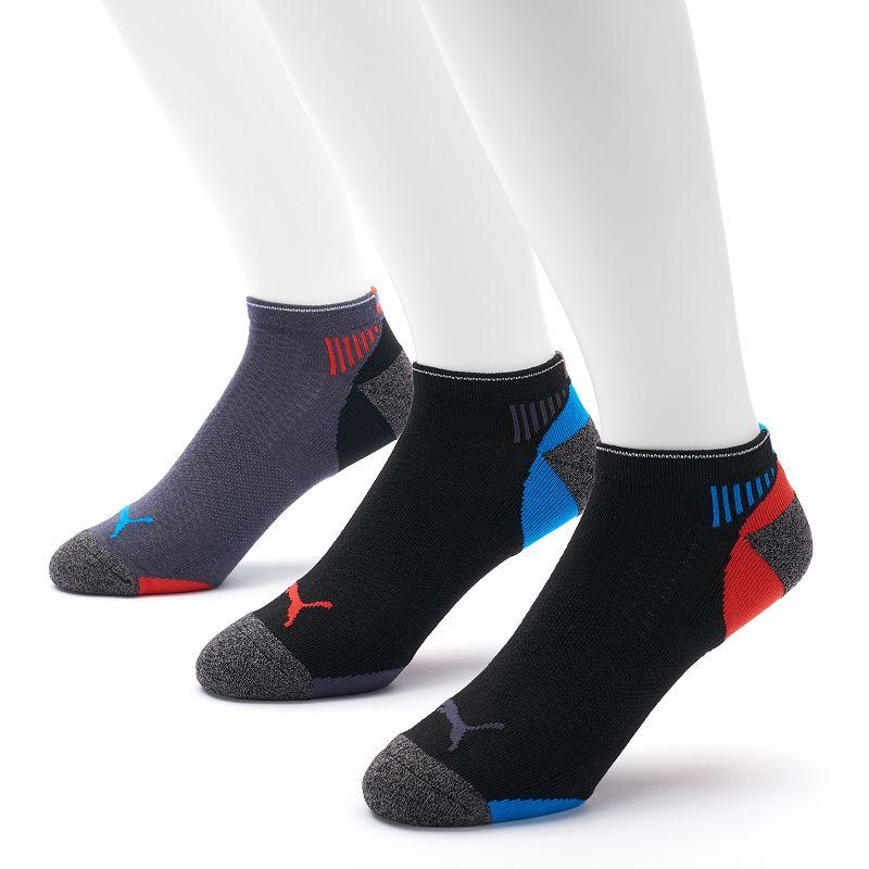 Men's PUMA 3-pack All-Sport Impact Low Cut Socks