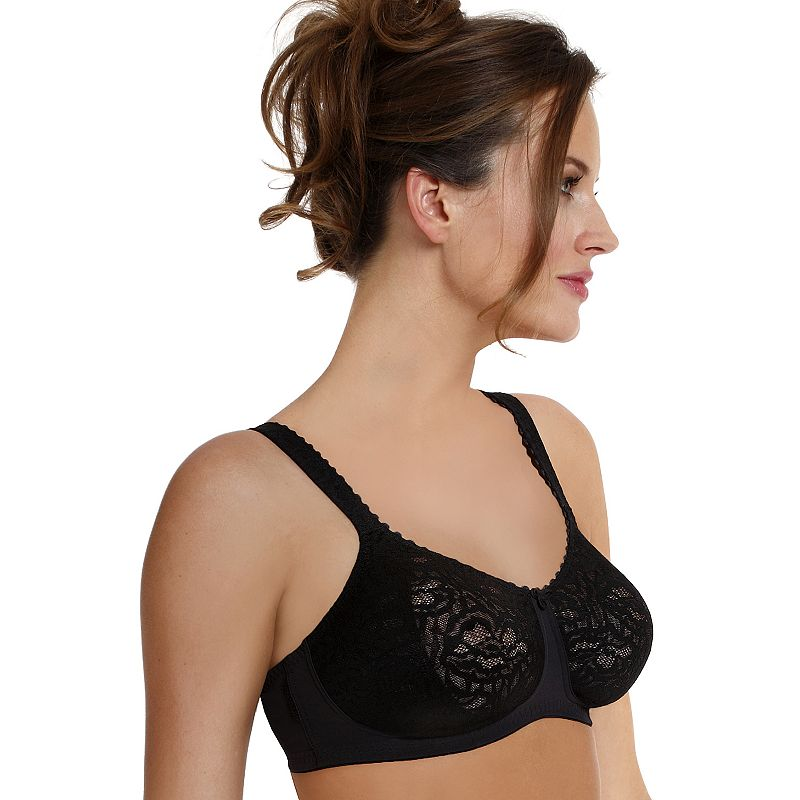 Anita Bra: Aurelia Lace Unlined Wire-Free Full-Figure Bra 5673 - Women's