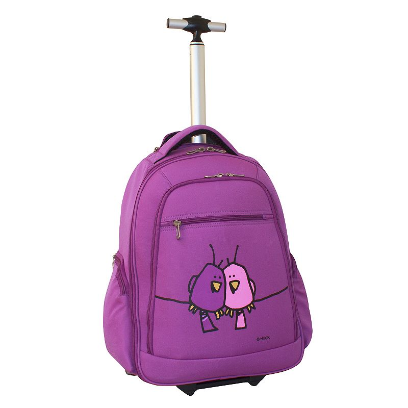 Ed Heck Love Birds Wheeled 15-in. Laptop Backpack