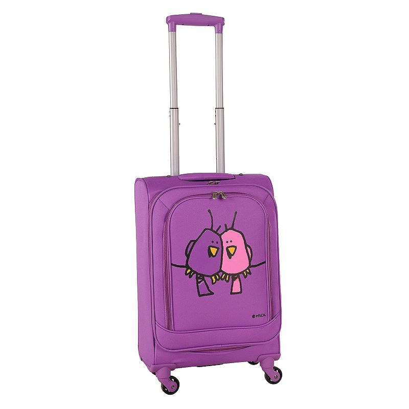 Ed Heck Big Love Birds 20-Inch Spinner Carry-On