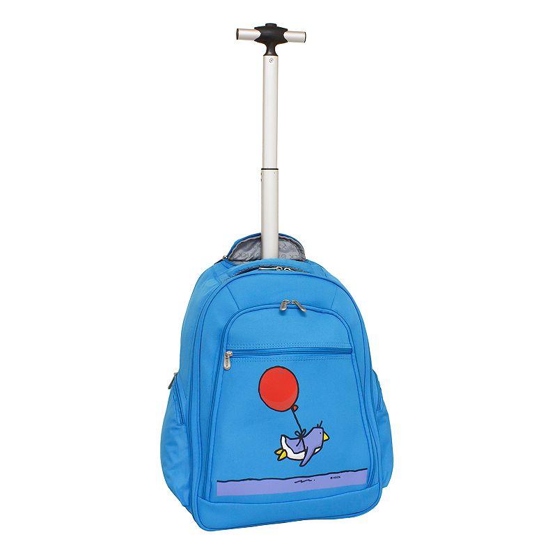 Ed Heck Flying Penguin Wheeled 15-in. Laptop Backpack