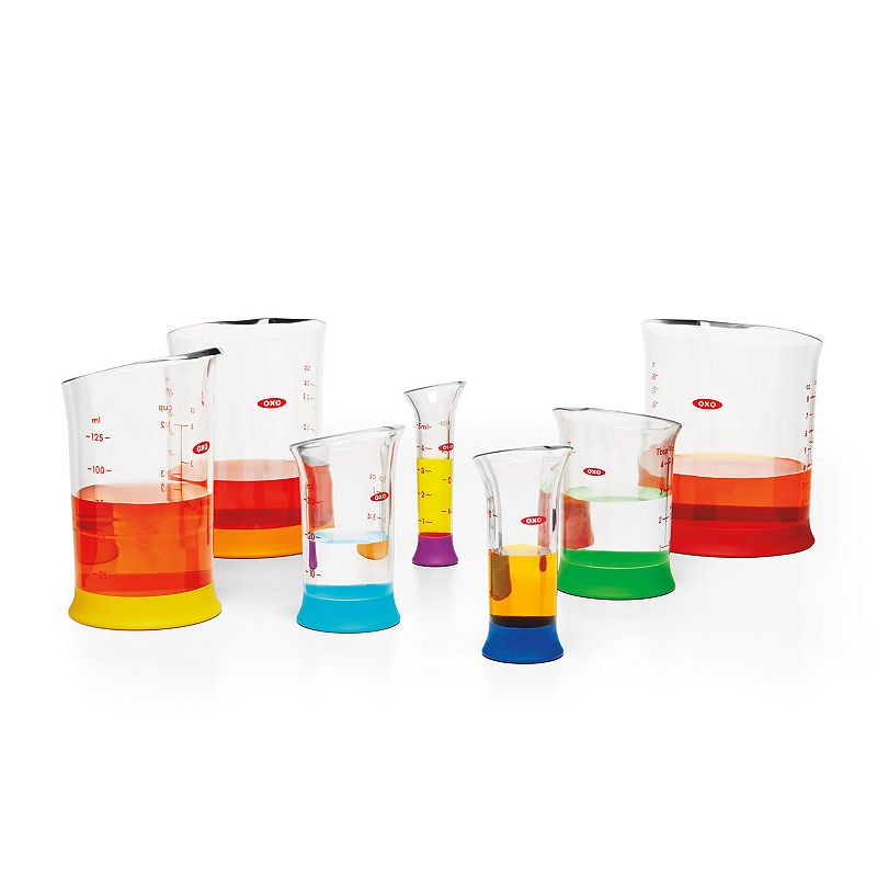 OXO 7-pc. Liquid Measuring Beaker Set