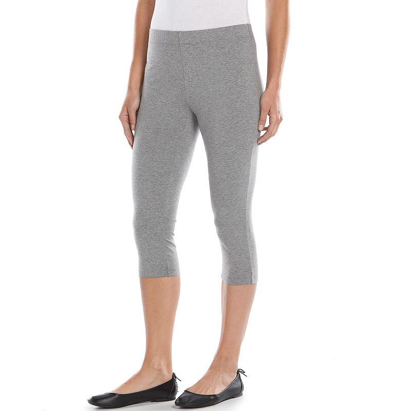 SONOMA Goods for Life™ Solid Crop Leggings - Women's