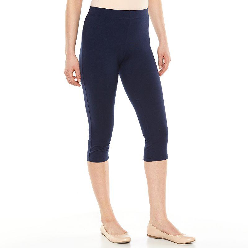 SONOMA Goods for Life™ Solid Crop Leggings - Women's