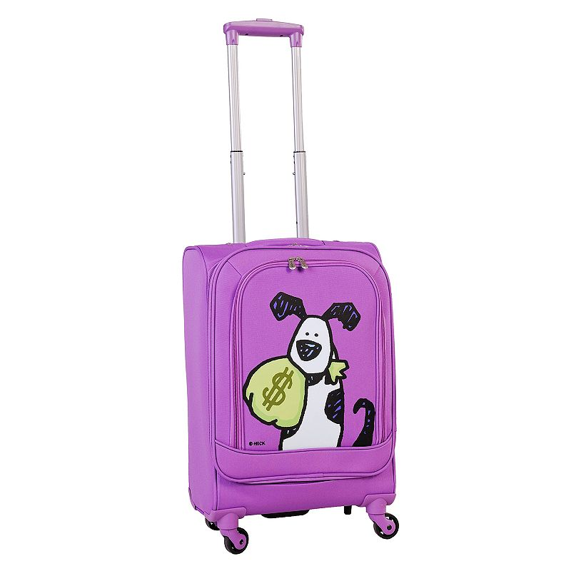 Ed Heck Money Doggie 20-Inch Spinner Carry-On