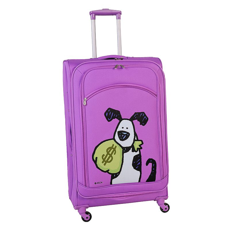 Ed Heck Money Doggie 24-Inch Spinner Luggage