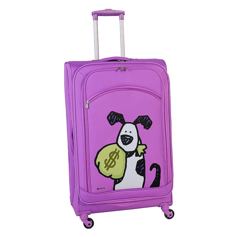 Ed Heck Money Doggie 28-Inch Spinner Luggage